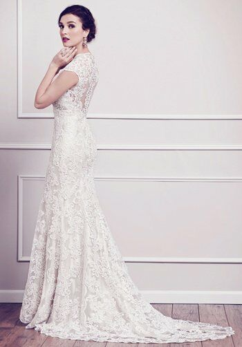 Kenneth Winston 1584 Mermaid Wedding Dress