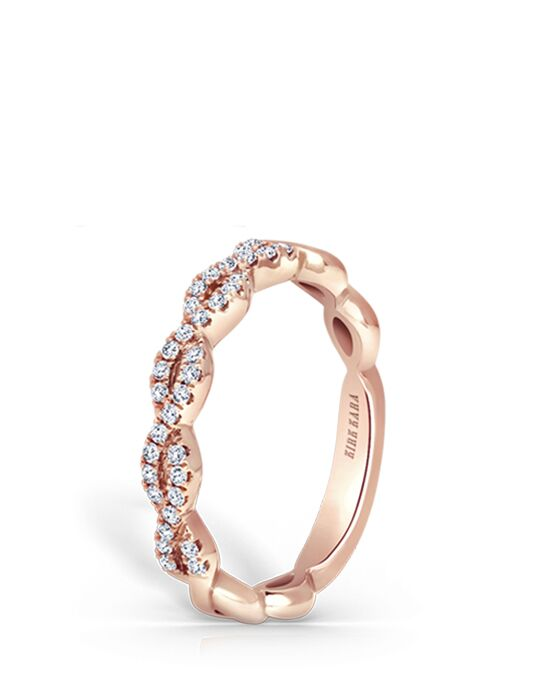 Kirk Kara K287R-B Rose Gold Wedding Ring