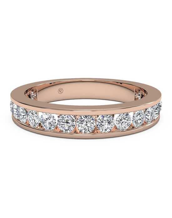 Ritani Women's Channel-Set Diamond Eternity Wedding Ring - in 18kt Rose Gold - (1.05 CTW) Rose Gold Wedding Ring