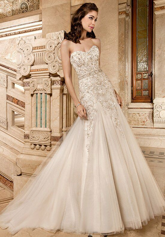 Demetrios 4327 A-Line Wedding Dress