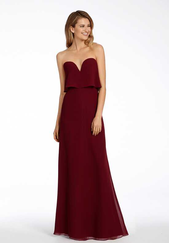 Hayley Paige Occasions 5708 Strapless Bridesmaid Dress