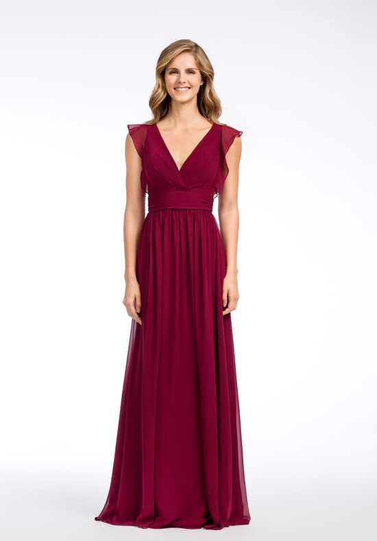 Hayley Paige Occasions 5660 V-Neck Bridesmaid Dress