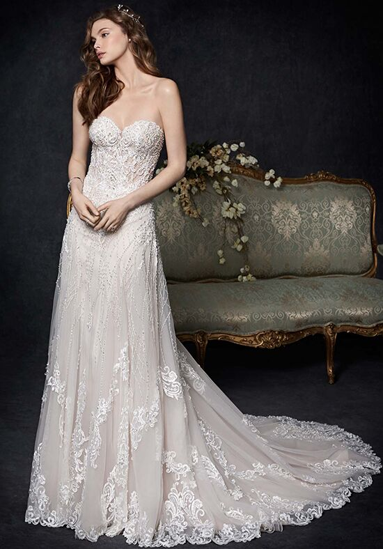 Kenneth Winston 1760 A-Line Wedding Dress