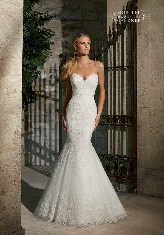 Morilee by Madeline Gardner 2713 Mermaid Wedding Dress