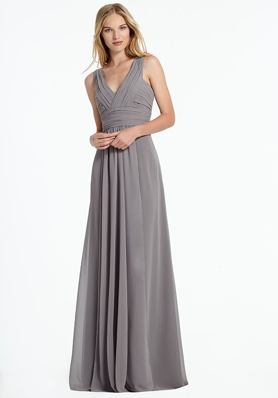 Monique Lhuillier Bridesmaids 450067 V-Neck Bridesmaid Dress