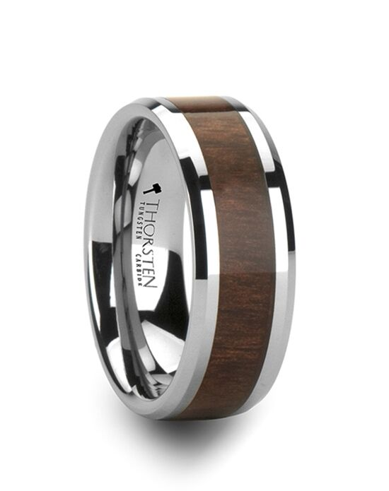 Mens Tungsten Wedding Bands W805-BWIT Tungsten Wedding Ring