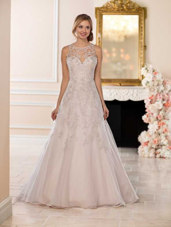 Stella York 6553 A-Line Wedding Dress