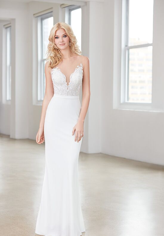 Madison James MJ355 Sheath Wedding Dress