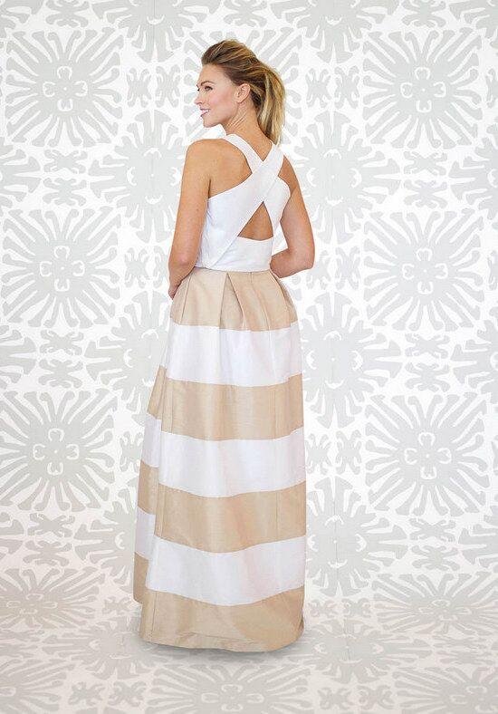LulaKate Striped Dahlia Skirt Bridesmaid Dress - The Knot