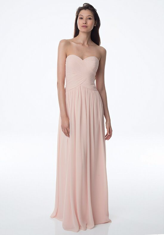 Bill Levkoff 982 Strapless Bridesmaid Dress