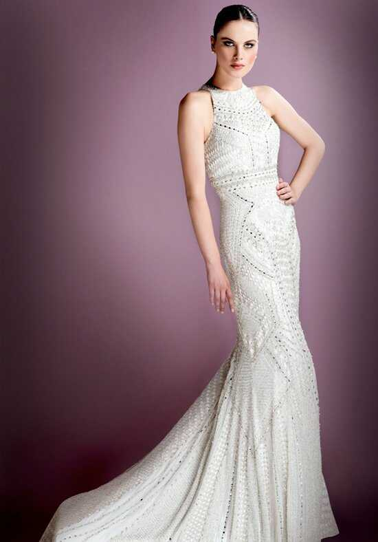 Stephen Yearick KSY74 Sheath Wedding Dress
