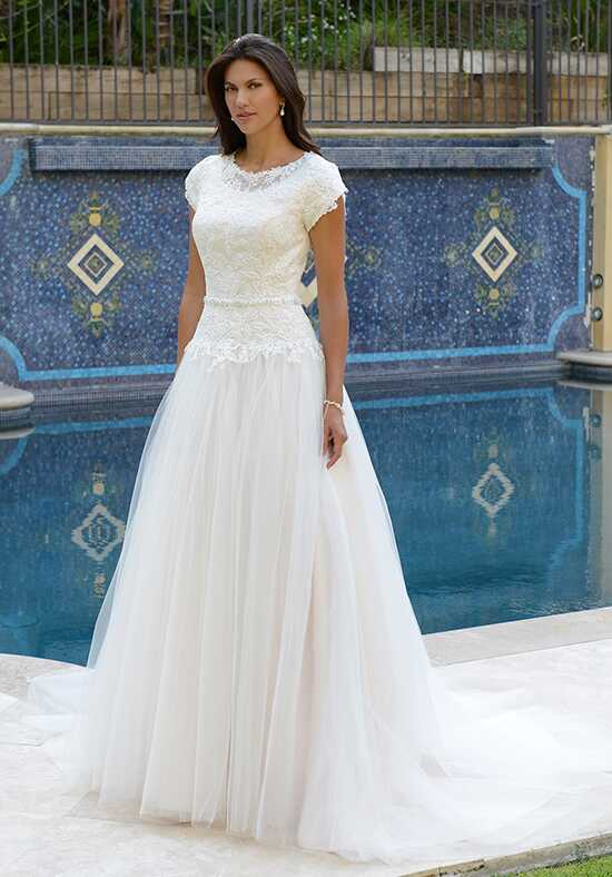 Venus Modest TB7744 A-Line Wedding Dress