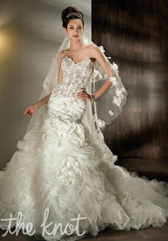 Demetrios 530 Mermaid Wedding Dress