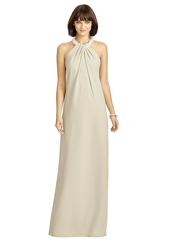 Dessy Collection 2971 Halter Bridesmaid Dress