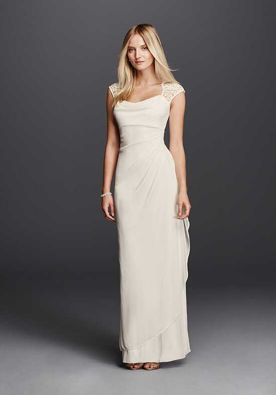 David's Bridal DB Studio Style XS3450 Sheath Wedding Dress