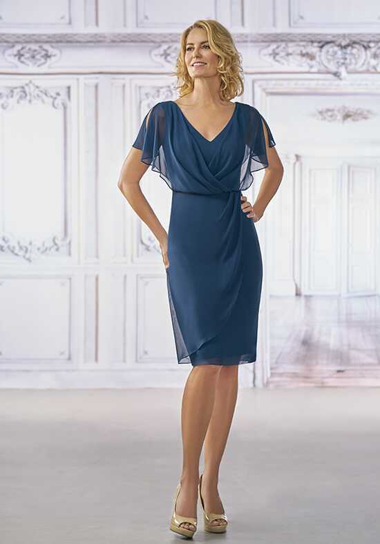 Jasmine Black Label M190001 Blue Mother Of The Bride Dress