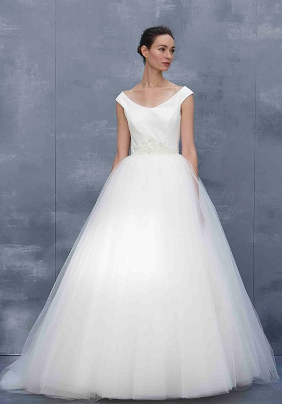 Scoop Neck Wedding Dress