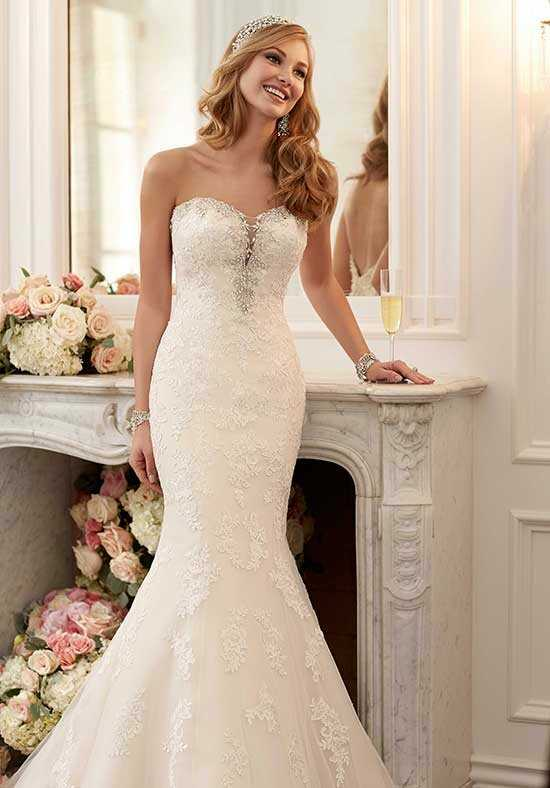 Stella York 6119 Mermaid Wedding Dress