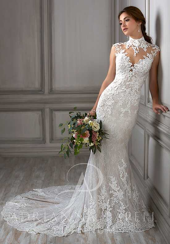 Adrianna Papell Platinum Della Mermaid Wedding Dress