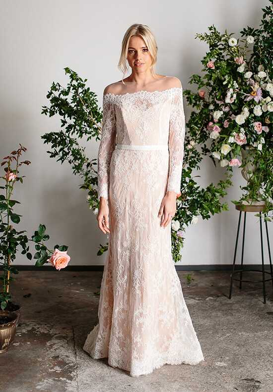 KAREN WILLIS HOLMES Azalea Mermaid Wedding Dress
