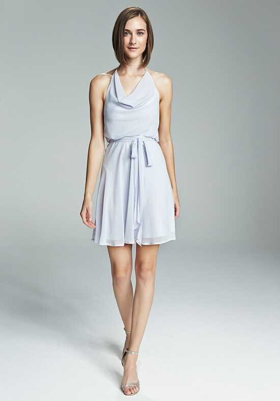 Nouvelle Amsale Bridesmaids Shani Halter Bridesmaid Dress