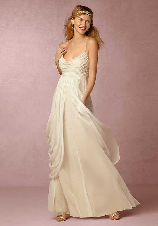 BHLDN Ronnie Gown Sheath Wedding Dress