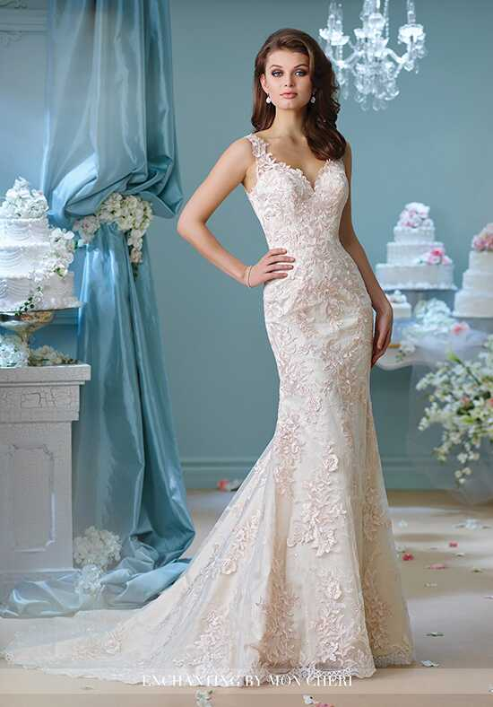Enchanting by Mon Cheri 216163 Mermaid Wedding Dress