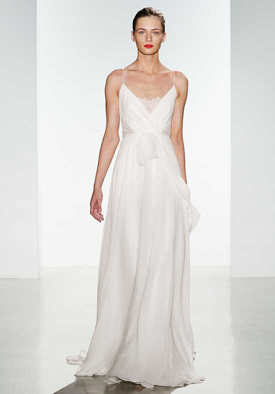 Christos Tinsley Sheath Wedding Dress