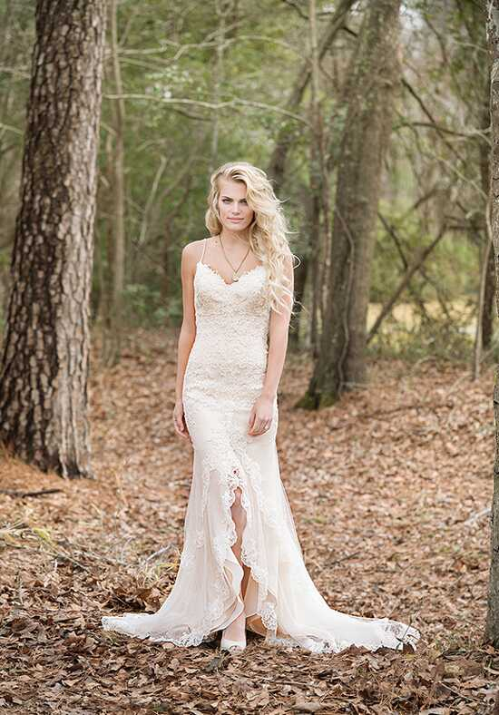 Lillian West 6460 A-Line Wedding Dress