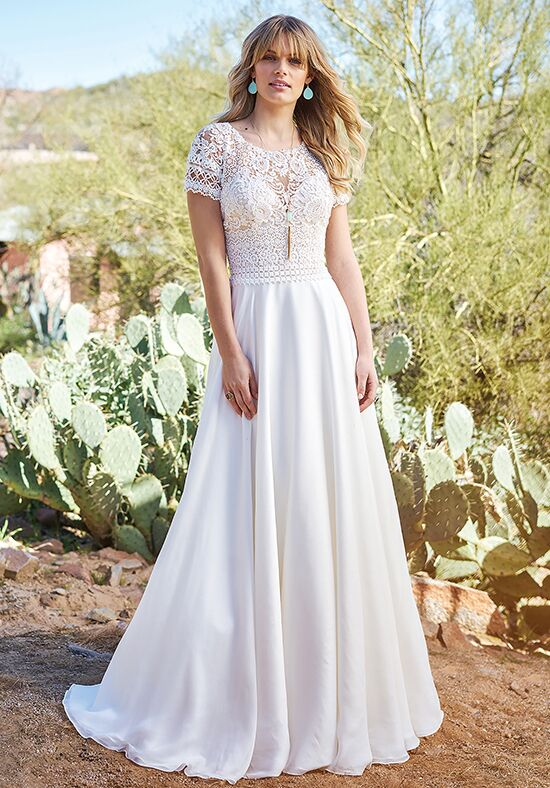 Lillian West 6508 A-Line Wedding Dress