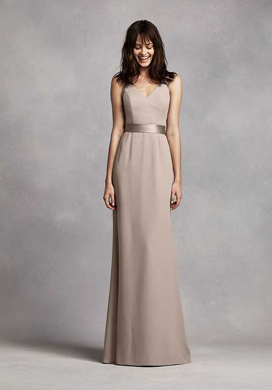White by Vera Wang Collection White by Vera Wang Style VW360195 V-Neck Bridesmaid Dress