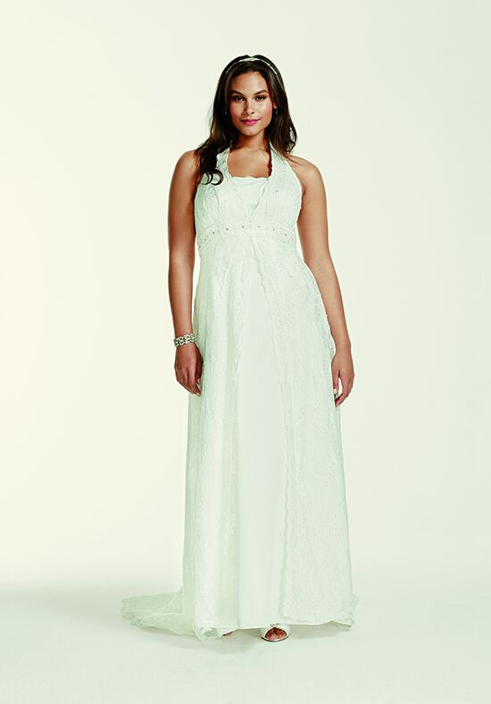 David's Bridal David's Bridal Collection Style 9H9572 A-Line Wedding Dress