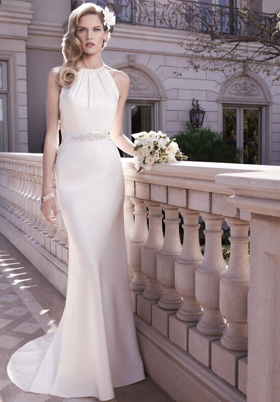 Casablanca Bridal 2128 Sheath Wedding Dress