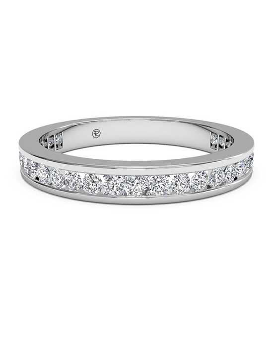 Ritani Women's Channel-Set Diamond Eternity Wedding Ring - in 14kt White Gold - (0.55 CTW) White Gold Wedding Ring