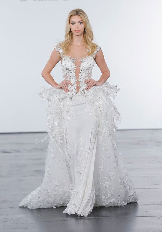Pnina tornai for kleinfeld 4280 wedding dress the knot for Pnina tornai wedding dresses prices