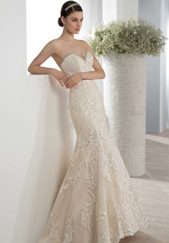 Demetrios 587 Mermaid Wedding Dress