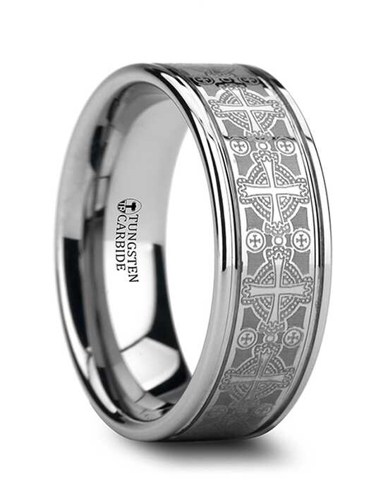 Mens Tungsten Wedding Bands W875-LEC2 Tungsten Wedding Ring