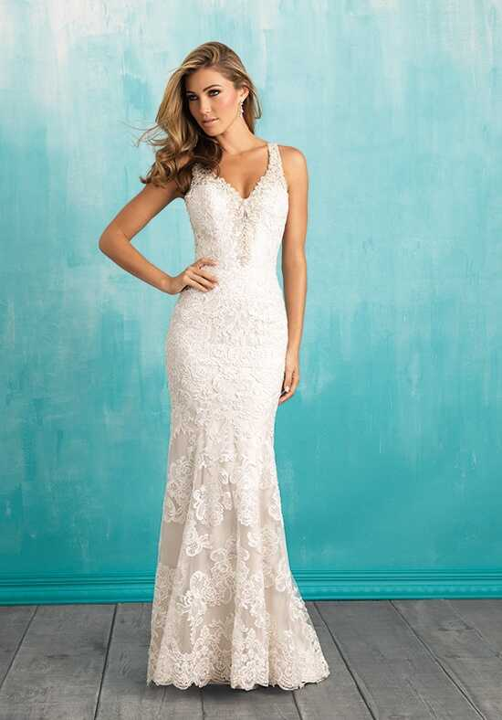 Allure Bridals 9316 Sheath Wedding Dress