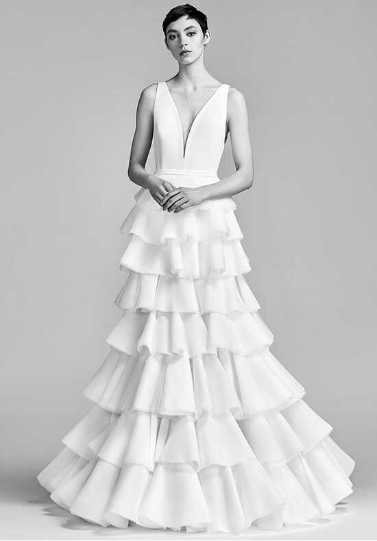 Viktor&Rolf Mariage Layered Couture Volant Tulle Dream A-Line Wedding Dress