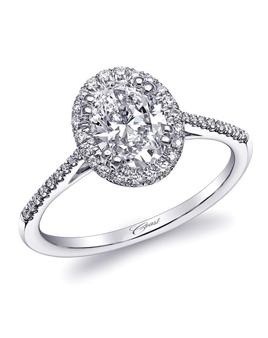 Coast Diamond LC5410-Oval Engagement Ring photo