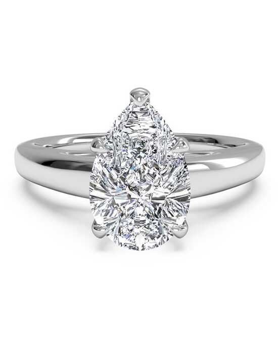 Ritani Solitaire Diamond Cathedral Engagement Ring