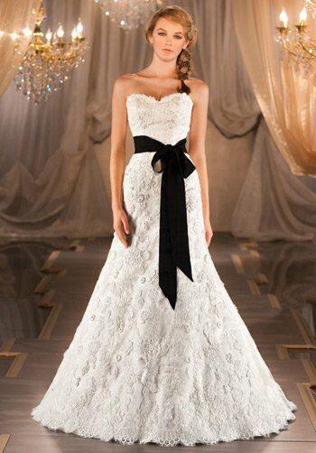 Martina Liana 404 A-Line Wedding Dress