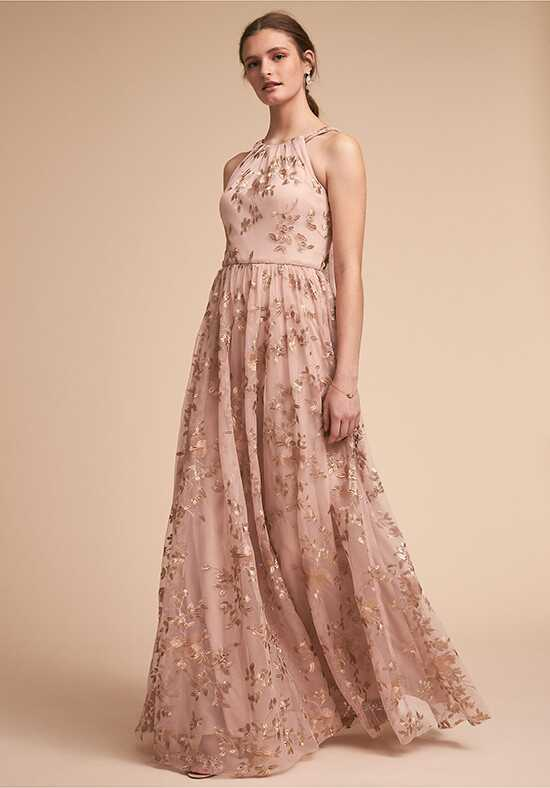 BHLDN (Bridesmaids) Antonia Dress Halter Bridesmaid Dress