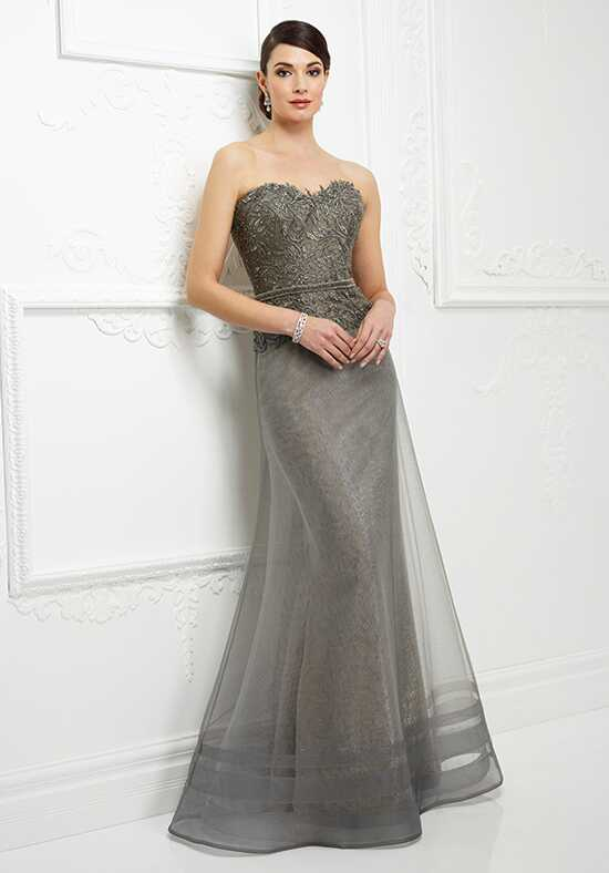 Ivonne D. 217D87 Gray Mother Of The Bride Dress