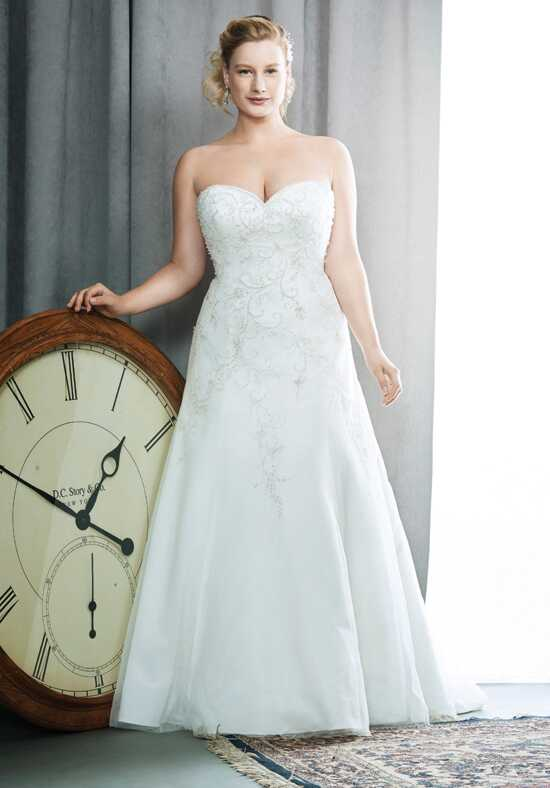 Femme by Kenneth Winston 3396 Sheath Wedding Dress