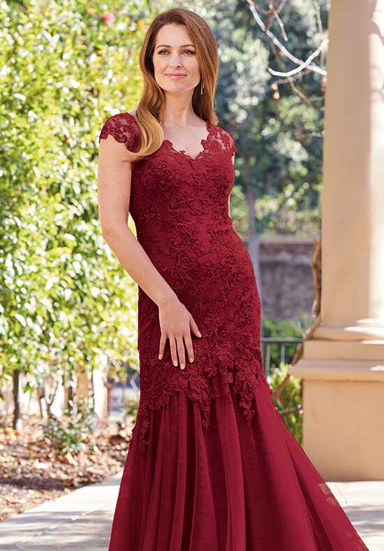 Jade Couture K208058 Red Mother Of The Bride Dress
