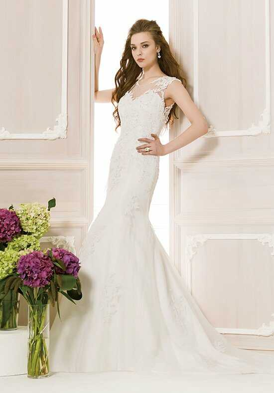 Jasmine Collection F151054 Mermaid Wedding Dress