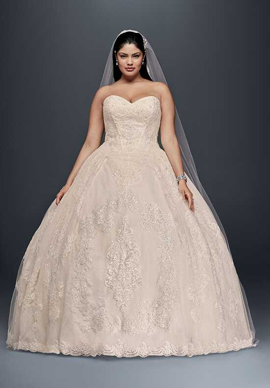Oleg Cassini at David's Bridal Oleg Cassini Style 8CWG749 Ball Gown Wedding Dress
