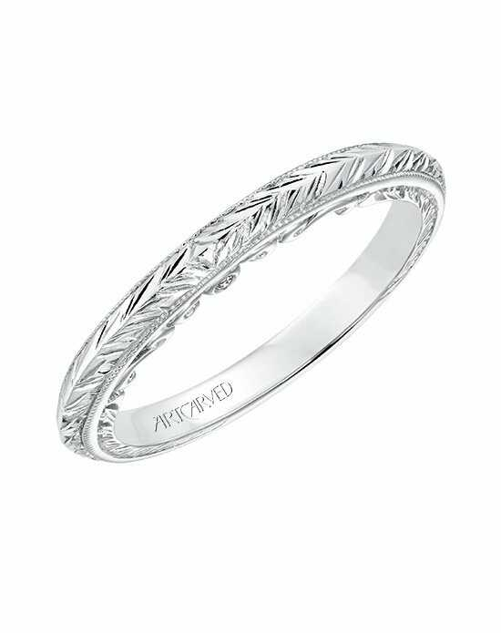 ArtCarved 31-V690W-L Wedding Ring