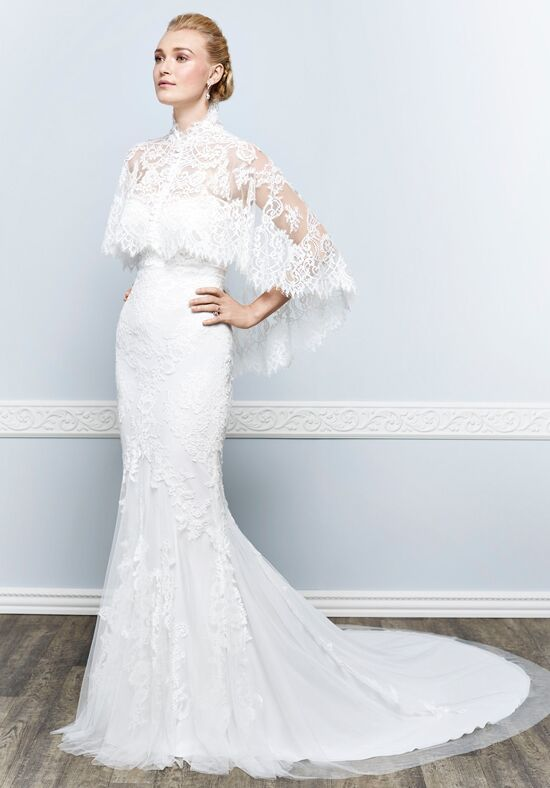 Kenneth Winston 1644 Sheath Wedding Dress